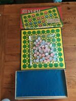 REVERSI Board game Vintage 1973 Spear's Games 100% Complete.Very rare! christmas