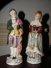 VINTAGE PORCELAIN OCCUPIED JAPAN MORIYAMA Victorian man & woman