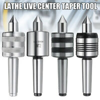 MT1/2/3/4 Live Center Morse Taper Precision 0.001'' CNC Long Spindle Lathe Tool