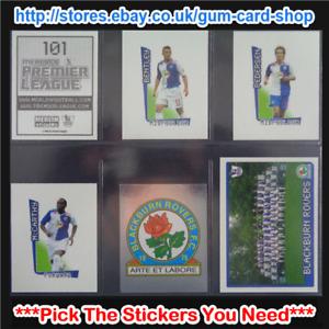 Merlin's Premier League 2007-2008 (100 to 199) *Please Select Stickers*