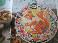 'Flora & Fauna'  cross stitch charts(only)