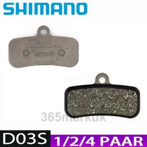1/2/4Paar Shimano D03S 4 Kolben Kunststoff Bremsbelag Fur M8120 M8020 M7120 M820