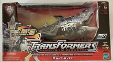 Transformers Robots in Disguise - SKY-BYTE Shark - Hasbro 2001