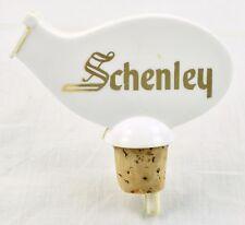 Schenley Bottle Stopper Liquor Bottle Pourer Spout Plastic