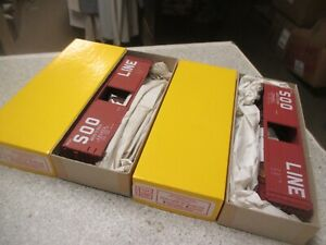 Set 2 Soo Line Accurail Limited Ed 50' boxcar 1950's paint ho kits historical