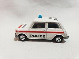 1979 TOMICA 1/50 BLMC MINI COOPER S (F8) MK-III POLICE CAR (JAPAN)