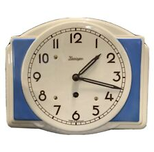 KIENINGER Stunning Ceramic Porcelain Vintage Wall Clock