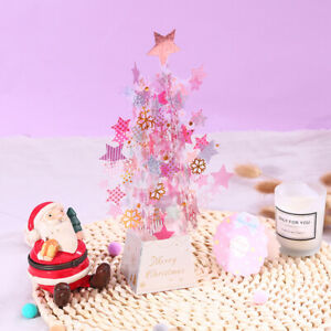 3D Pop Up Greeting Cards Xmas Christmas Postcard Xmas Gift Invitation Card