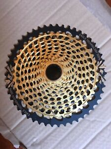 SRAM Xx1 Eagle XG-1299 12 Speed Cassette - Gold