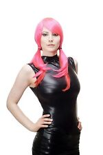 Ladies' Wig Cosplay Pink Red Naughty Braids Layered F1005 Gothic Harajuku