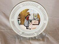 "Copenhagen Porcelain Bing & Grondahl ~ Carl Larsson Plate ~ ""The Kitchen"""