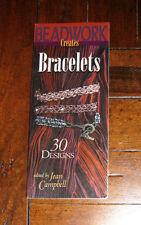 BOOK: Beadwork Creates Bracelets: 30 Designs / Jewelry Stringing Loom Craft Art