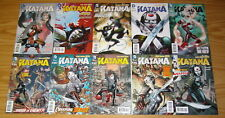 Katana #1-10 VF/NM complete series - new 52 justice league of america spin-off