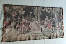 New listing Beautiful Vintage Tapestry Made in Belgium 35 X 19 Dancing Gathering