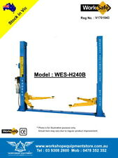 NEW 2 Post 4 ton Hoist Vehicle Lift Car Lift * WorkSafe VIC Approved * WES-H240B
