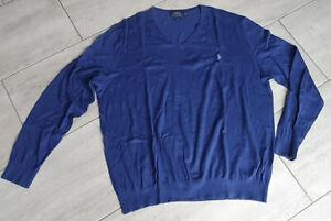 Ralph Lauren Pullover Business blau Slim Fit XXL - Neuwertig!