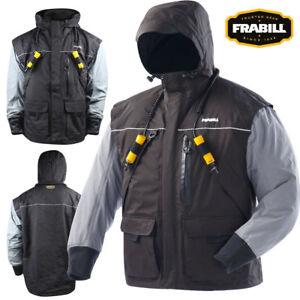 Frabill I2 Series Jacket (L)- Black Heather