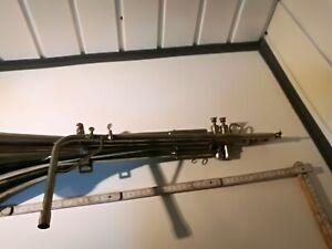 Voigt Schalmei, Doppel Akkord, Voit, 100 cm, Messing vernickelt