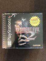 Resident Evil 2 (Sony PlayStation 1 PS1 PSX, 1998) ✅CIB/Complete