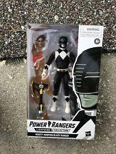 Hasbro Power Rangers Lightning Collection Mighty Morphin Black Ranger figure