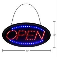 Bright OPEN LED NEON SIGN LIGHT Plate for Business Shop Bar Restaurant Coffee