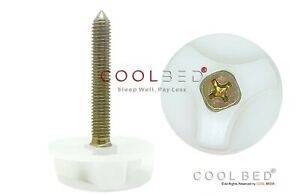 2 x M8 HEADBOARD BOLTS SCREWS WITH FITTED WASHERS FIXINGS FOR DIVAN BED