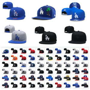 Fashion Embroidered MLB LBaseball Teams Logo Adjustable Snapback Cap Sport Hat
