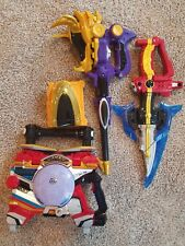 Sentai Kyuranger and Go Busters open toy lot