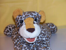 """Folkmanis Folktales Puppets 14"""" Spotted Leopard Plush Hand Puppet"""