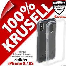 Krusell Kivik Pro Cover Military Grade Protective 4H Case for Apple iPhone X XS