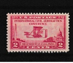 US Stamp-Scott # 649/A194-2c-Mint/NH-OG-1928-Perf.11 x 10 1/2-Flat Press**