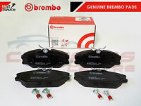 BREMBO GENUINE ORIGINAL PREMIUM BRAKE PADS PAD SET FRONT AXLE P68027