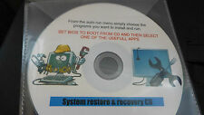 Windows 10/8.1/8/7 ultimate system restore/recovery boot disc for laptop or P/C