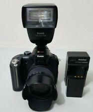 Kodak EasyShare P880 8.0MP Digital Camera Pro Bundle W/ P20 Zoom Flash *GOOD*