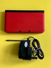 Nintendo Red 3DS XL - Includes Brand new Stylus & Charger 💎
