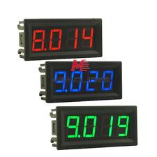 056 Inch Led Mini Digital Voltmeter Voltage Meter Volt Panel Tester 4bits 0 10a