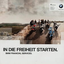 Motocicleta BMW Financial Services folleto 3/12 2012 motocicleta folleto brochure