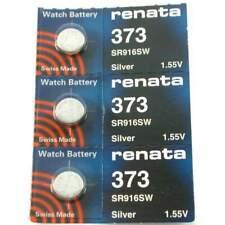 373 Sr916Sw Silver Oxide 3 Renata 1.55V Watch Battery