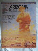 Wyatt Earp Arizona Highway Magazine 1995 Frontier Tombstone Crown King Rex Allen