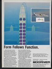 EASTERN AIRLINES METRO EXPRESS DORNIER 228 VTOL FORM FOLLOWS FUNCTION 1988 AD