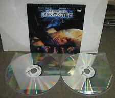 Mary Shelley's FRANKENSTEIN, 2 Laserdiscs, 1995, VG, De Niro, Kenneth Branagh