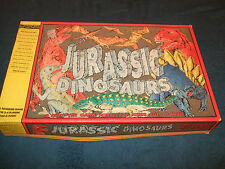 JURASSIC DINOSAURS CHILDRENS BOARD GAME BY LEGEND GAMES 1993