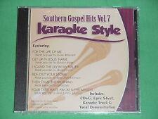 Southern Gospel Volume #7  Christian  Daywind  Karaoke Style  CD+G  Karaoke  NEW