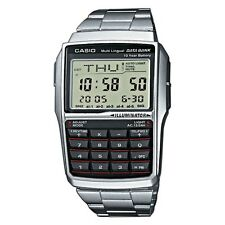 Casio Gents Multilingual Databank Alarm Digital Calculator Watch DBC-32D-1ADF