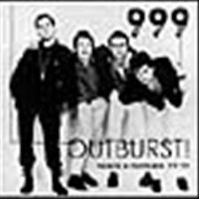999 Outburst CD COMPILATION NEW SEALED PUNK ROCK LONDON DEMOS AND OUTAKES 77-79