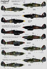 Xtradecal 1/72 X72113 Hawker Hurricane Mk IIc Decals