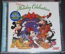 NEW CD ~ Disney's HOLIDAY CELEBRATION ~ Christmas Songs 2007 ~w/ Lyrics & Poster