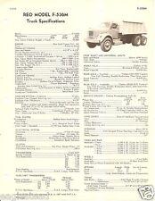 Truck Brochure - Reo - F-536M - 1954 (TB529)