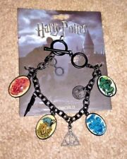 NWT HARRY POTTER CHARM BRACELET 2017 LICENSED HIGH QUALITY TOGGLE 8 CHARMS $24