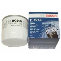 Genuine Bosch P7078 Oil Filter Ford EcoSport, Fiesta, Focus 1.25, 1.4, 1.5, 1.6